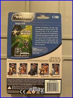 Star Wars The Vintage Collection VC34 AOTC Jango Fett New On Card