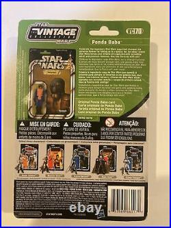 Star Wars The Vintage Collection VC70 Ponda Baba New On Card See Pictures
