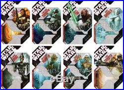 Star Wars UNPRODUCED PROOF CARDS 30th Anniversary Figures, TAC, 2007, Prototype