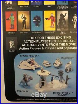Star Wars Vintage Action Figure Esb Palitoy 41a Back Han Solo Hoth Carded