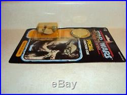 Star Wars Vintage Potf Yoda Kenner USA Power Of The Force Coin Card 92 Back Moc