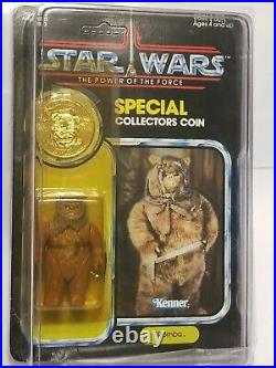 Star Wars Vintage Romba POTF Power of the Force MOC Carded Nice Bubble Unpunched