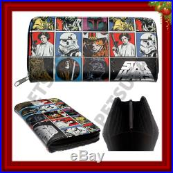 Star Wars Women Wallet Card Holder Designer Style Girl Faux Leather Xmas Gift