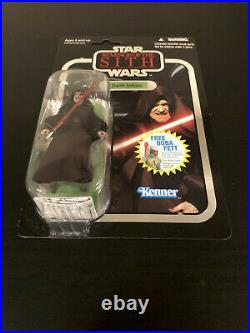 Star Wars the Vintage Collection Darth Sidious VC12 Foil Card