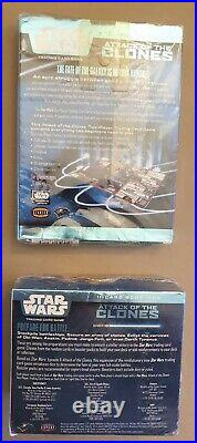 Stars Wars Attack Of The Clones trading card Game & full box of Cards