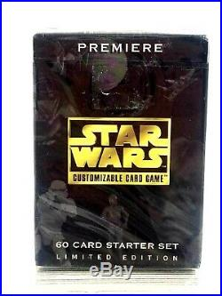 Stars Wars Collectible Topps Cards Lot Some Sealed 1995 Vintage
