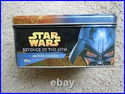 Stars Wars Revenge Of The Sith Movie Card Tin Topps No Cards 2005 Cb3