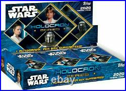 TOPPS Star Wars Holocron Series Trading Cards Factory Sealed Hobby Box 18 Packs