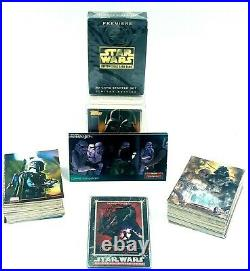 Topps Stars Wars Collectible Cards Lot Some Sealed 1995 Vintage