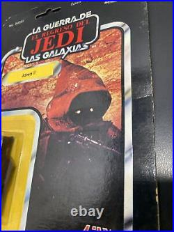 Vintage Lili Ledy Star Wars Jawa With Removable Hood MOC Mint On Card Mexico