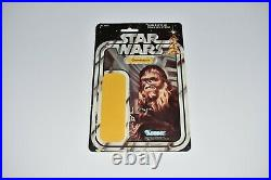 Vintage Star Wars 1977 Chewbacca 20 back Canada card back only