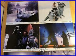Vintage Star Wars/Empire Strikes Back 11 x 14 Lobby Cards COMPLETE Set of 8
