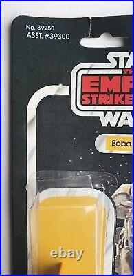 Vintage Star Wars Kenner 41 Back Boba Fett Cardback With Attached Bubble& Footer