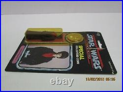 Vintage Star Wars Potf Imperial Dignitary Card Action Figure Moc Afa Last 17