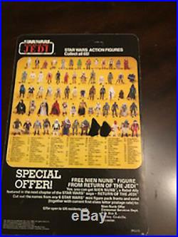 Vintage Star Wars carded Figure Lot (4 Figures). NO REPRO
